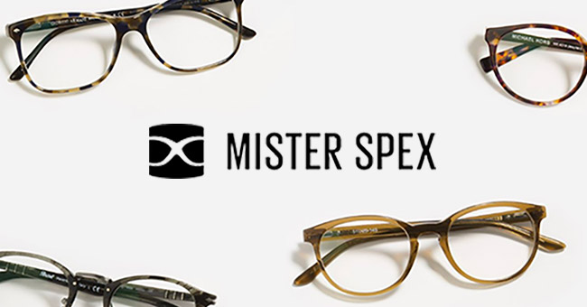 Mister Spex glasses and contact lenses