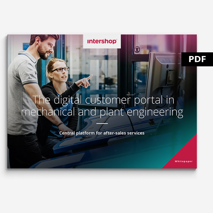 Cover Whitepaper digital customer portals in manufacturing